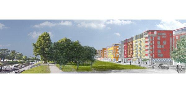Tre kvarter byggrätter till salu i centrala Uppsala