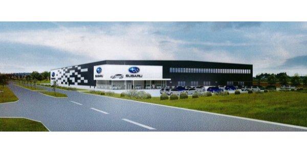 Skanska bygger 9 655 kvm stort huvudkontor åt Subaru utanför Malmö