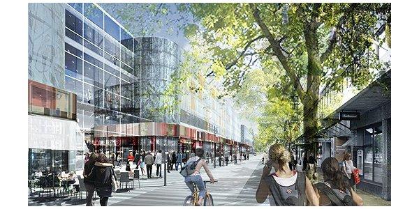 Första spadtaget för köpcentrum i Kristianstad den 1 september