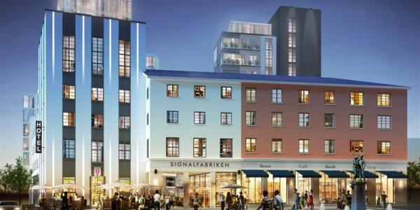 Newsec tecknar 2 250 kvm hyresavtal med H&M och Lindex i Signalfabriken