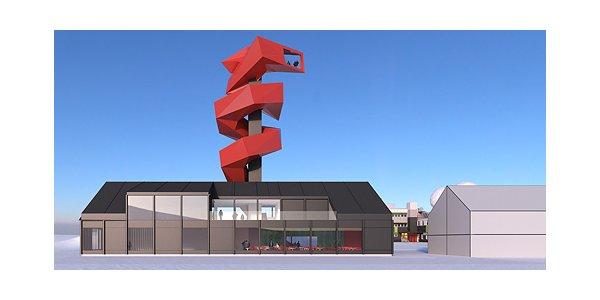 Nya lokaler för Esrange Space Center i Kiruna