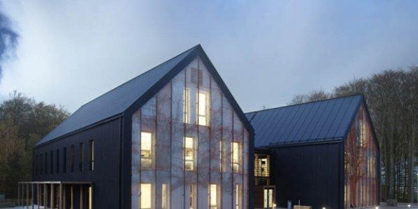 Skanskas kontor på Väla Gård utanför Helsingborg får solenergipris