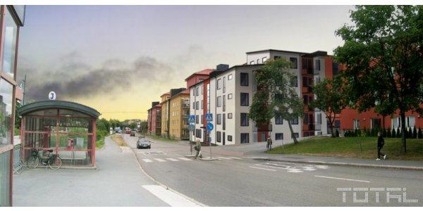 Huge Fastigheter bygger 24 nya hyreslägenheter i Skogås