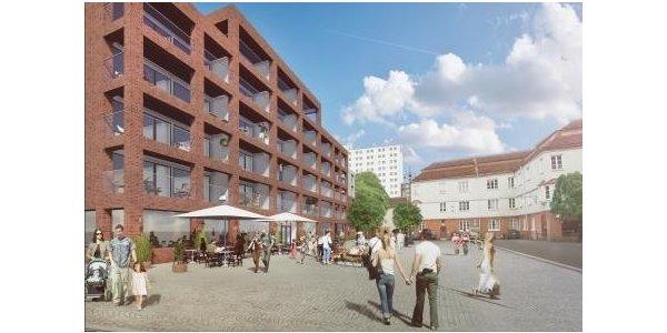 Poseidon bygger 53 nya hyresrätter i Gamlestaden i Göteborg