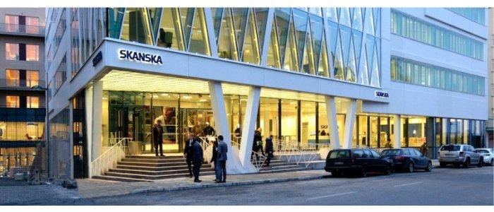 Skanska säljer kontorsprojekt på Kungsholmen för 1 Miljard