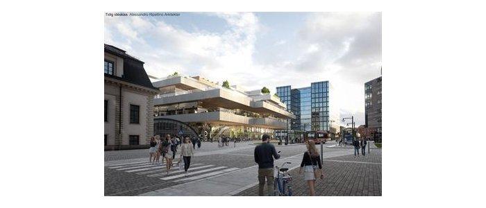 Så vill Jernhusen utveckla centralstationsområdet i Stockholm