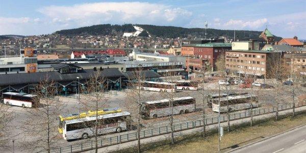 Diös utvecklar Gustav III:s torg i Östersunds centrum