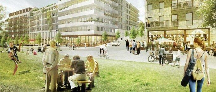 SSM i nytt projekt om 350 lägenheter i Nacka stad