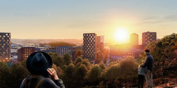Platzer satsar på ny stadsdel
