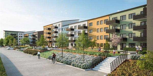 NCC bygger åt Uppsalahem