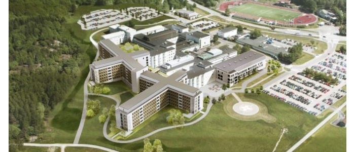 Skanska bygger sjukhus för närmare miljarden