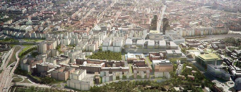 Solnas stad 2030: 800 000 kvm under utveckling