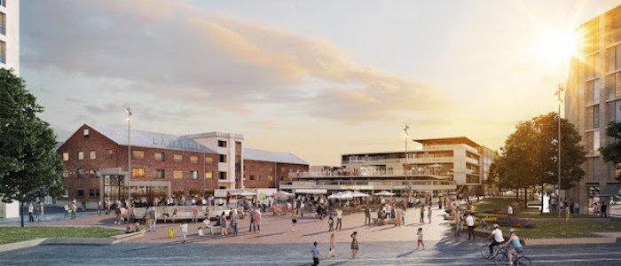 Sju bygger bostadsområdet Godisfabriken
