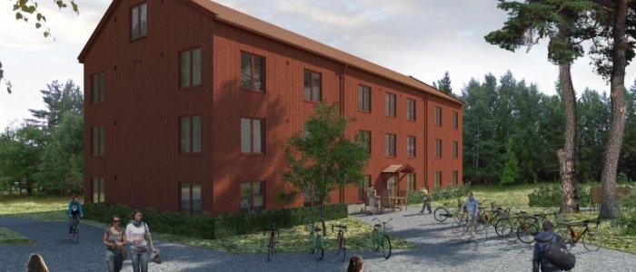 Willhems studentbostäder till Stockholm