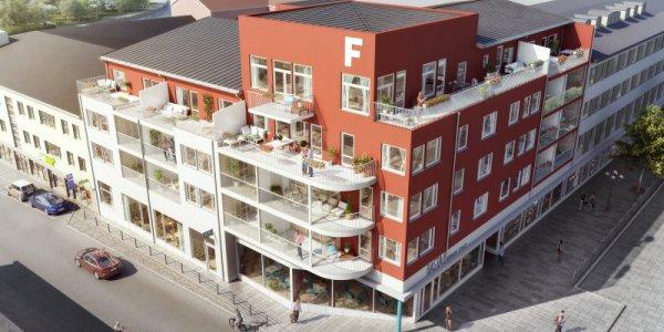 Diös bygger nya bostadsrätter