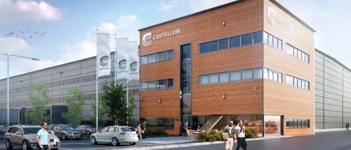 Castellum premiäruthyr i logistikpark