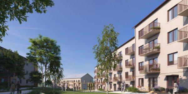 Nu byggs första Stockholmshuset