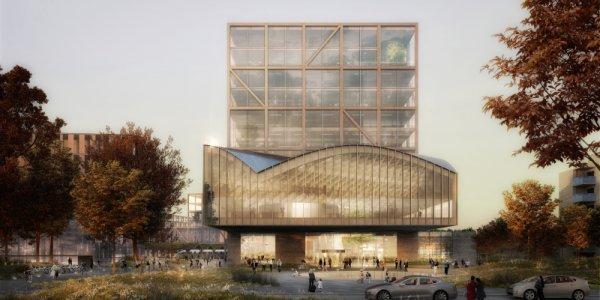 De ritar Lunds nya central