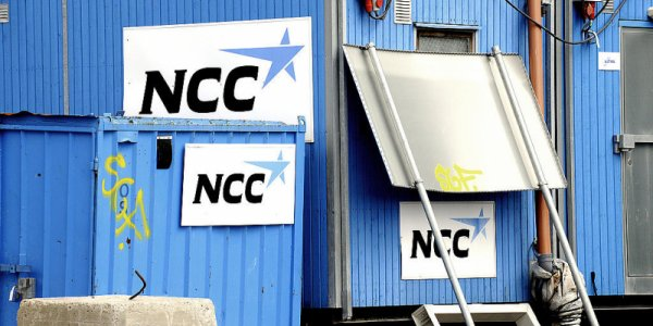Kraftigt vinstfall för NCC