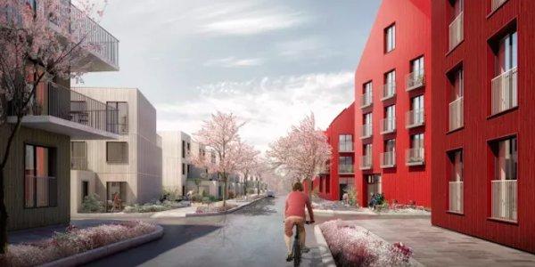 Arkitema ritar bostäder i Hallunda
