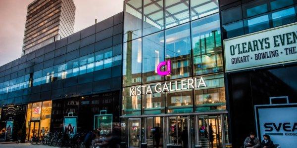 Kista Galleria får ett ansiktslyft