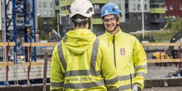 JM köper mark i Stockholm