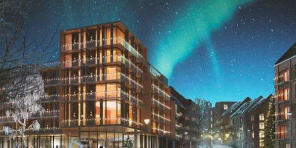 Arkitema ritar nya bostäder i Östersund