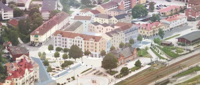Gnesta storsatsar på stadsutveckling