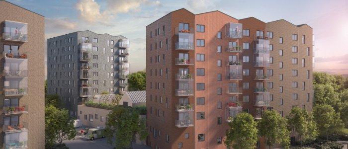Balder bygger Björkekärrs bostäder