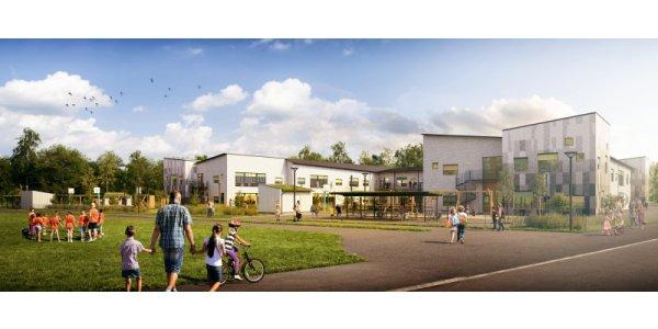 Peab bygger miljömärkt skola