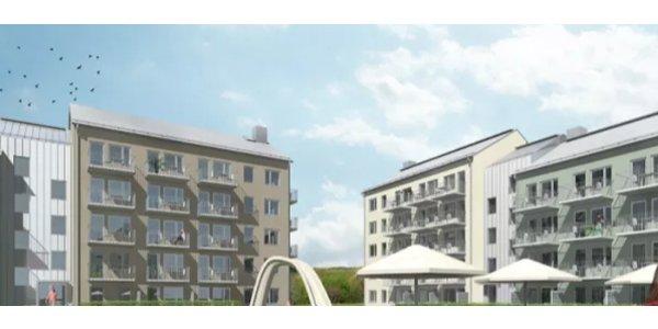 Nyggstart för 138 lägenheter i Nyköping