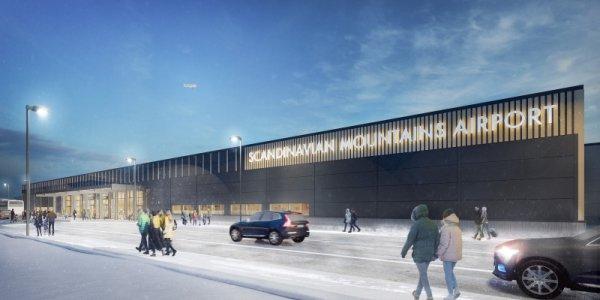 Kvarts miljard läggs på ny flygplats