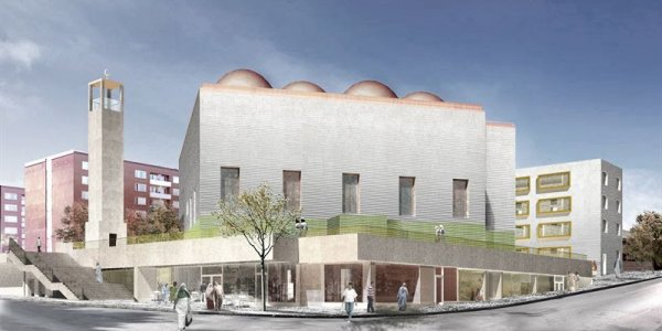 Därför bygger NCC ny moské