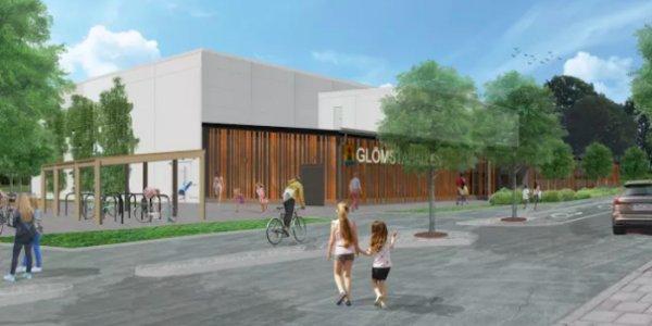 Arcona bygger ny idrottshall