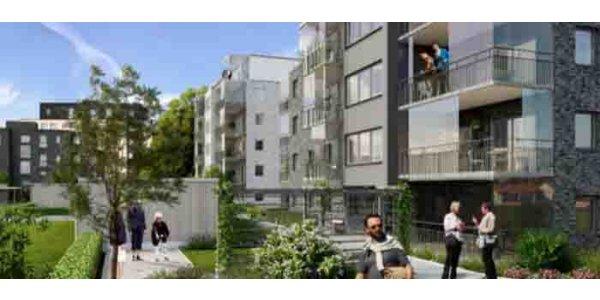 Riksbyggen bygger 49 seniorbostadsrätter
