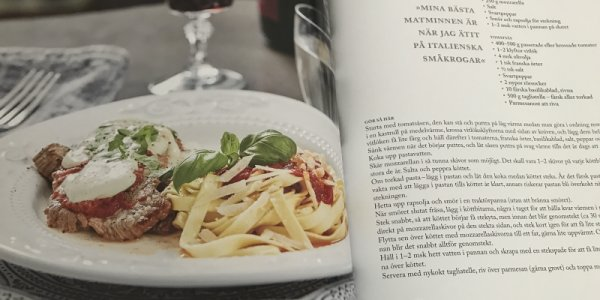 Sommarmiddag: Scaloppine med Mozzarella & Tomatsås