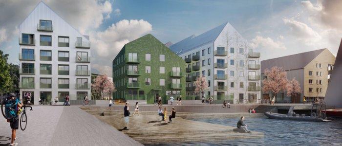 Nytt supergrönt hus står klart