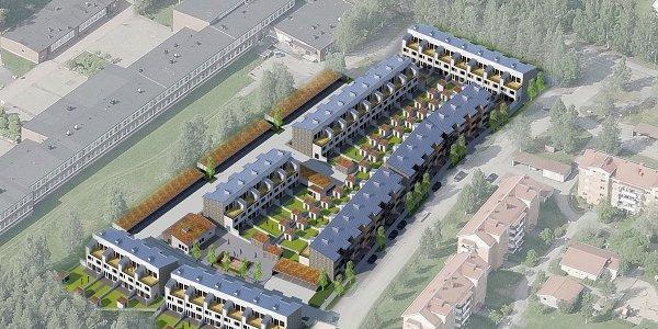 Fem fastighetsjättar bygger ny stadsdel