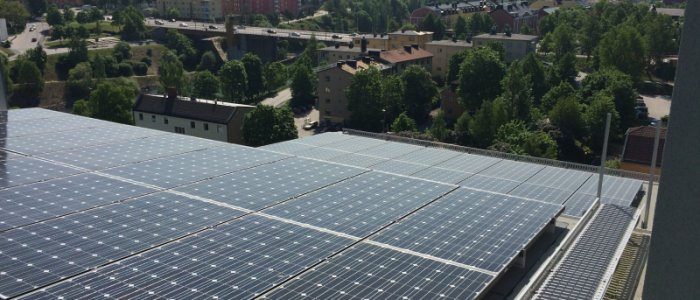 Telge storsatsar på solceller