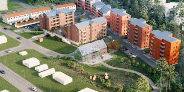 Obos satsar på hållbarhet i Umeå