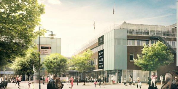 Diös utvecklar Bergströms Galleria