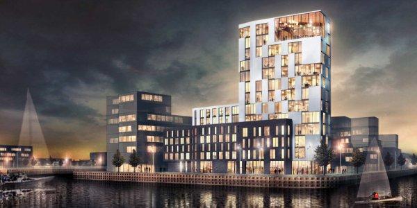 Midroc bygger WTC i Helsingborg