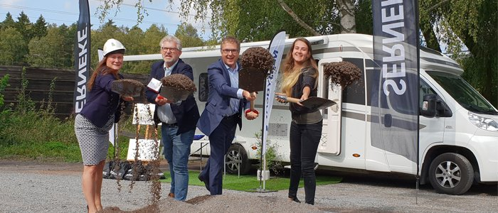 Serneke och Väsbyhem bygger 190 bostäder