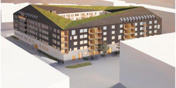 Nu premiärbygger Tornstaden i Malmö