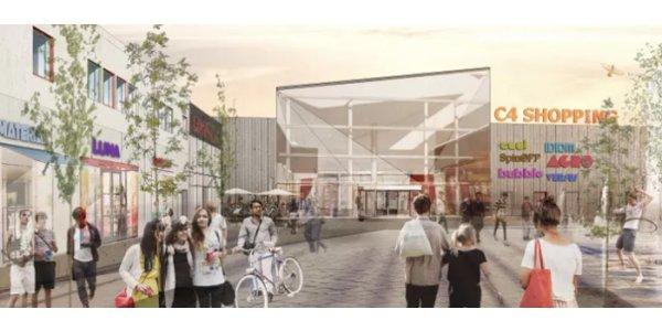Miljöklassificerat shoppingcenter slår upp portarna