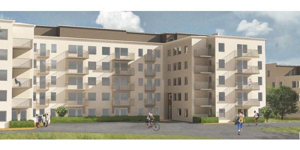 Wästbygg bygger lägenheter i Malmö