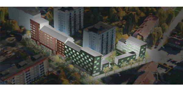 Skanska bygger 104 nya lägenheter