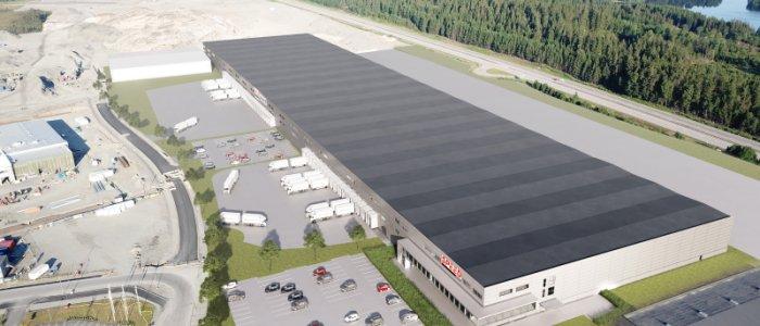 Fortsatt expansion av logistik i Borås