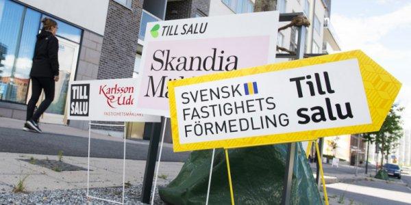 Stiltje på bostadsmarknaden