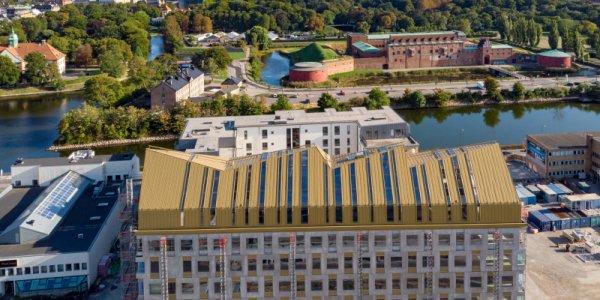 Aura i Malmö får fler hyresgäster